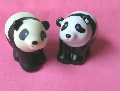 Fisher Price Little People NOAH'S ARK  PANDA BEAR animal  figures toy lot ZOO