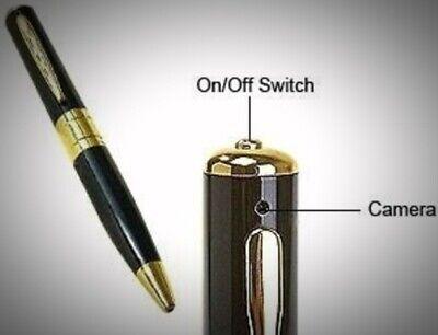 Mini Hidden Cam Pen HD Cam Camera Video USB DVR Recording 32GB Audio UK SELLER