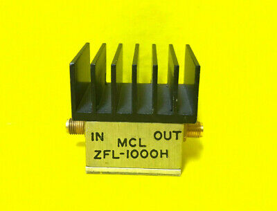 Mini-circuits Zfl-1000h 10-1000 Mhz Sma F Rf Power Amplifier. Tested