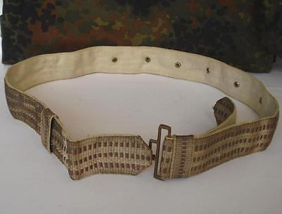 Wwii Original German Ally Officer S Parade Silver Belt