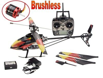 RC Hubschrauber, Helikopter 4 Kanal V913 PRO Brushless 60cm inkl Akku NEU ()
