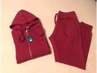 Wine Red Full Tracksuit Brand New