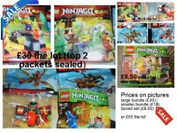 Lego ninjargo sets ,prices on pics collection only from didcot smoke and pet free home