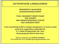 PROPERTY WANTED IN BURNLEY, COLNE, PADIHAM, BRIERFIELD