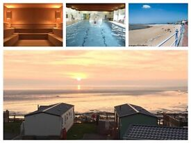 STATIC HOLIDAY HOME FOR SALE , STATIC CARAVAN, SEA VIEWS, NORTH WEST, MORECAMBE, 4* HOLIDAY PARK