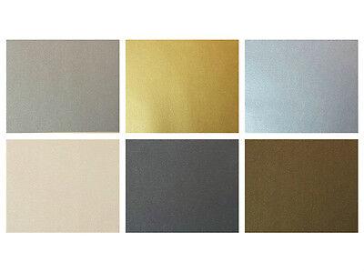 15 Sheets - METALLIC CARDSTOCK & PAPER - 8.5