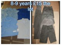 boys school uniform 8-9 years prices on pictures smoke and pet free home collection from didcot