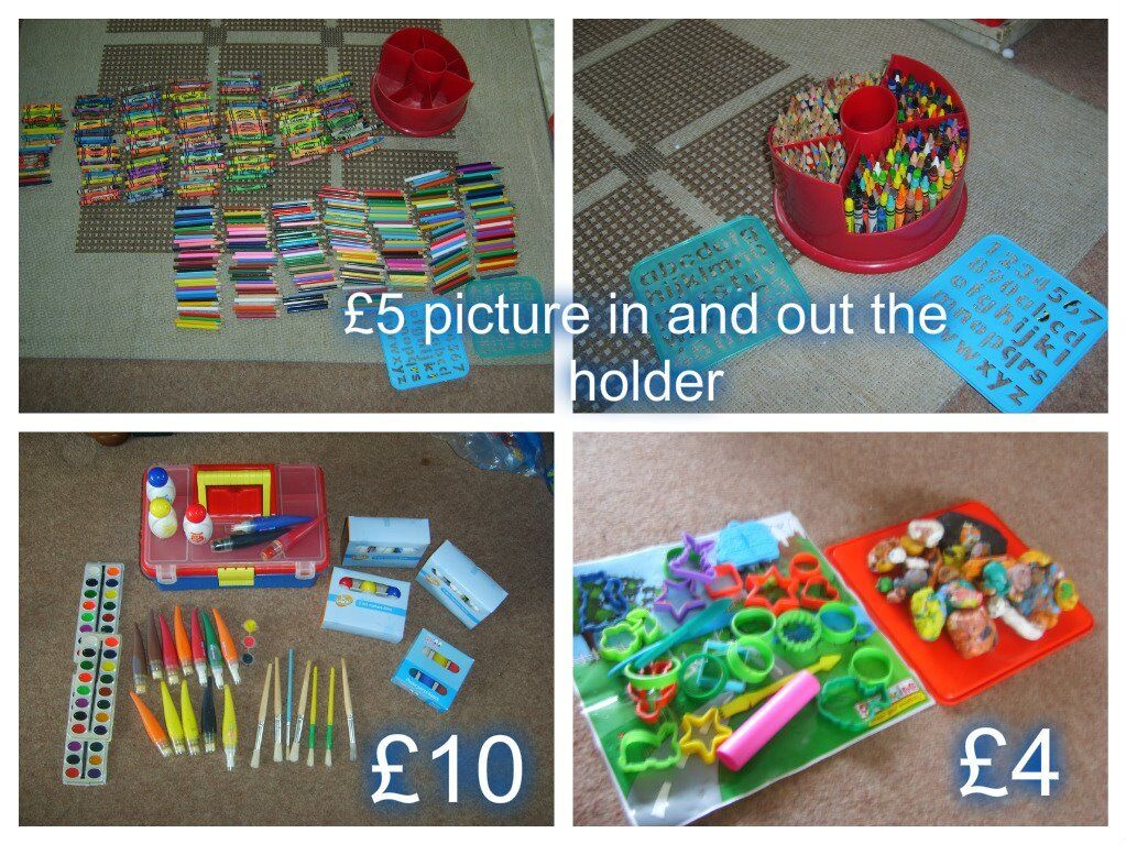 art and craft bundle prices on pictures collection from Didcot or £15 the lot