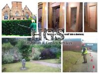 HandyMan & Garden Services - Hedges & Tree Work, Turfing, Lawn Mowing, Doors Fitted, Gates, Repairs