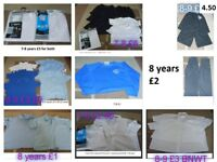 school uniform bundle 7+ trousers from a £1 a pair i also have 9 years- 11 years