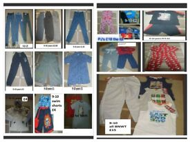 large bundle of boys clothes 9-10 years prices on pictures collection from didcot