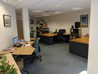 Professional desk for rent in top-spec new office on the Cheltenham Road