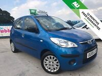 2009 HYUNDAI I10 - 5 DR HATCH - 79K MILES - CHEAP TAX ONLY £20 A YEAR - FREE 15 MONTHS WARRANTY!!!