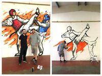 Professional Graffiti Artist / Muralist / Street Artist for HIRE!