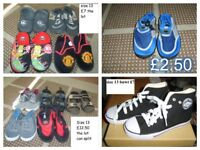 boys shoes size 13 from a smoke and a pet free home collection from Didcot