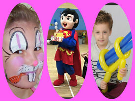 Children's entertainers required £10-£20/hour Weekend staff for children's party business