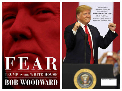 Fear Trump in the White House by Bob Woodward Hardcover Best Seller Pre Order