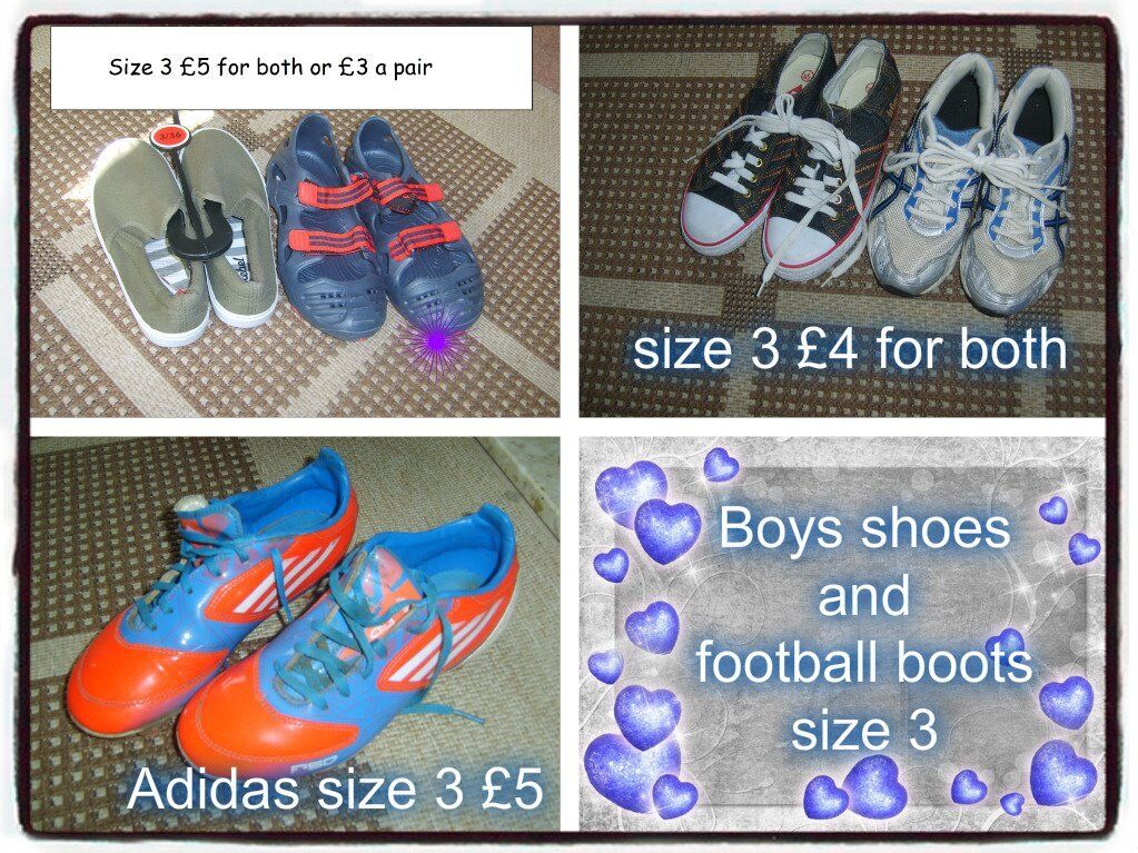 large bundle of shoes toddler 9 to adult 8 (inc new school shoes and plimsoles)