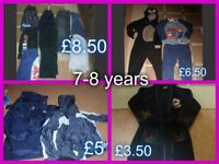 boys clothes 7-8 years smoke and pet free home collection from didcot or £20 the lot