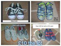 boys shoe size 3