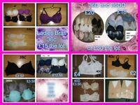 ladies bras various sizes 36c-40dd prices on pictures