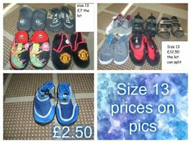 boys shoes size 13 from a smoke and a pet free home collection from didcot can split bundles