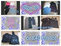 ladies clothes size 18 prices on pictures or £40 the lot collection from Didcot