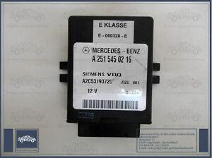MERCEDES-BENZ-CLASE-E-W211-Original-Unidad-De-Control-Airmatic-A-2515450216
