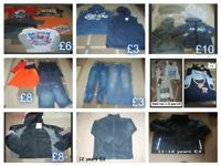 boys clothes 11-12 years prices on pictures collection from didcot from a smoke and pet free home