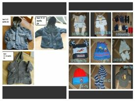 boys coats up to 2 years and hats, gloves prices on pictures or £15 the lot collection from didcot