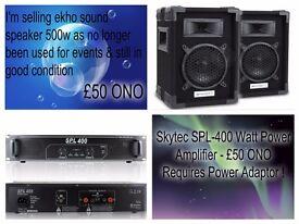 DJ Audio Equipment...