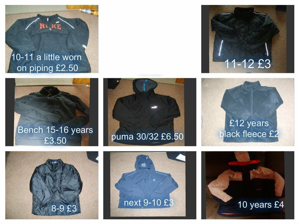 boys coats prices on pictures 10-15 years