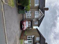 THREE BEDROOM, THREE RECEPTIONS 2 BATHROOMS SEMI- DETACHED HOUSE PRICE £1.750