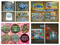 skylanders spyro adventures giants swap force trap team all used but good condition