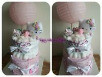 Nappy cakes and gifts