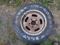 CAR WHEELS WANTED FOR UNI PROJECT.....DO YOU HAVE ANY OLD CAR WHEELS UNUSED.