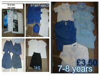 boys school uniform age 7 and 7-8 years prices on pictures smoke and pet free home