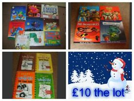 childrens books £10 the lot collection from didcot from a smoke and pet free home