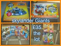 large bundle of skylanders game and portal for xbox 360 base to hold portal and figures