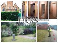 HandyMan & Garden Services - Hedge Trimming, Gardens Tidied, Gates, Fencing Repairs, Doors Fitted