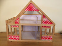 Dolls house including furniture & people