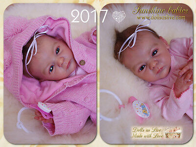 News The first New Year baby :) EMMA - from sold-out kit Lindea - Gudrun Legler