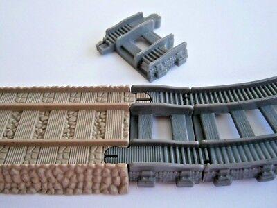 ADAPTER TRAIN TRACK x2 for Trackmaster Thomas & friends Revolution Tracks - NEW