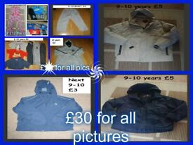 boys clothes 9-10 (bundle 1) £30 no offers can split