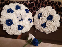 Gorgeous Artificial Foam Keep Forever Wedding Flower Bouquets, Wands, Buttonholes, Corsages & More