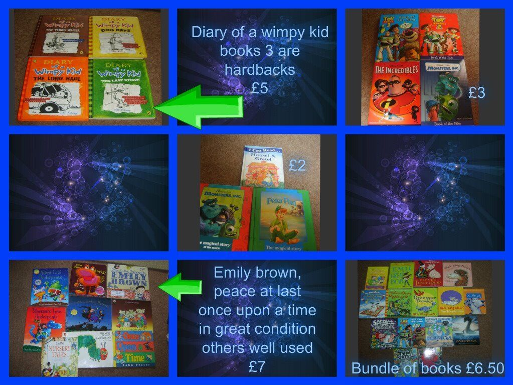 large bundles of childrens books prices on pictures or £20 the lot