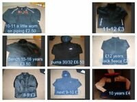 boys coats 9-12 years