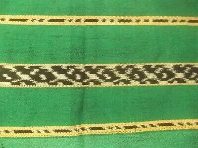 C2015 Ikat Hand Woven Weaving Scarf Scarve Tais Prawn Motif Alor Indonesia