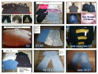 ladies clothes size 18 prices on pictures or £50 for the lot