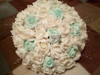 Wedding Flowers - Artificial Foam Rose Packages